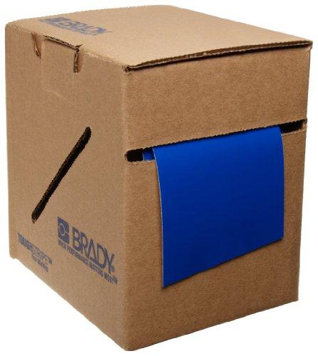 Brady ToughStripe Floor Marking Tape - Blue, Non-Abrasive Tape - 2 Width, 100 Length - 104314