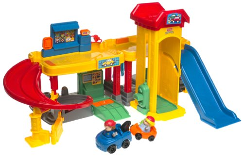 Little People Ramps Around Garage