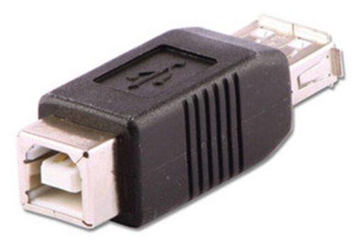 LINDY - Adaptador USB A Hembra a B Hembra