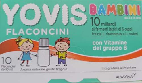 YOVIS bambini, flaconcini con vitamine del gruppo B.