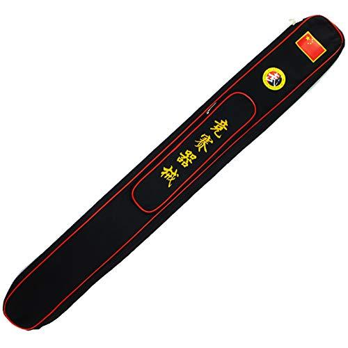Bolsa para Llevar la Espada de Taichi Bolsa de equipo de competición de artes marciales estándar de 99/109/118 cm,lona de alta gama,bolsa de espada ajustable con correa,cubierta de espada de Tai Chi