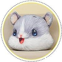 Simulación del hámster de juguete de felpa linda del ratón de peluche juguetes creativos de cumpleaños Juguete suave decoración del regalo Cojín Almohada portátiles Juguete para regalo de decoración