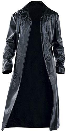 Tribal Coat Männer Kunstledermantel schwarz L 55% Polyurethan, 45% Viskose Undefiniert Industrial