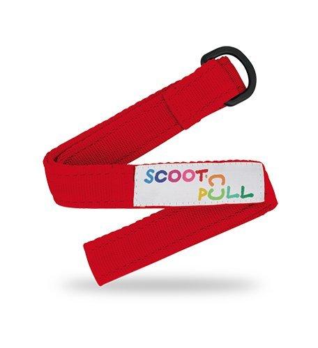Scoot And Pull Correa de transporte para patinete, arrastrar el patinete deslizando o transportarlo al hombro