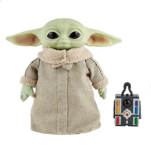 Star Wars The Mandalorian The Child Real Moves Plush
