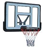 Tablero de Baloncesto Soporte de Baloncesto de Pared, Mini Soporte de Baloncesto al Aire Libre para Adultos, Equipo Deportivo de Entrenamiento de Baloncesto en casa