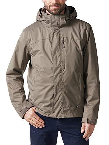 Klepper Herren Jacke Wetterschutz einfarbig Khaki 48