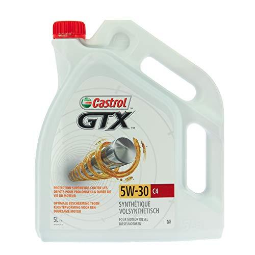 Castrol 055075 Motoröl GTX 5W-30 C4 für den Talisman Diesel