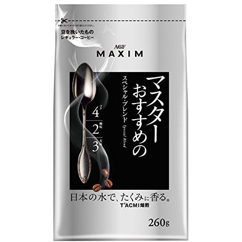AGF マキシム レギュラー・コーヒー マスターおすすめのスペシャル・ブレンド 260g 12袋入