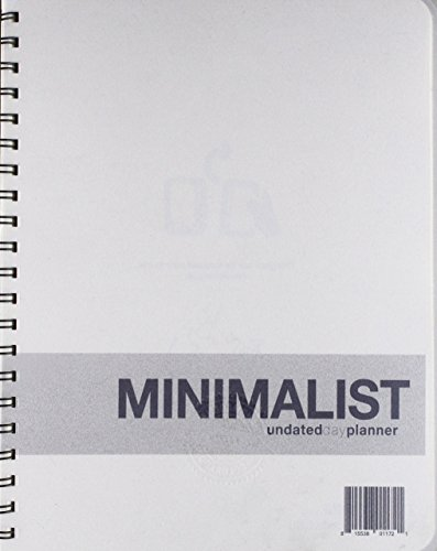 Action Publishing UNDATED Minimalist Day Planner (8.5' X 11'), Wire...
