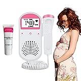 Home Fetal Doppler by Bemedo, Pocket Baby Heart Monitor, Fetal Heartbeat Doppler for Pregnancy
