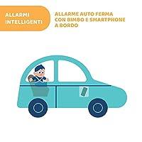 Chicco Bebècare Easy-Tech Dispositivo Anti Abbandono Universale per Seggiolino Auto, App, Bluetooth, 3 Livelli di Allarme, Allarmi Intelligenti - Bianco/Blu #8