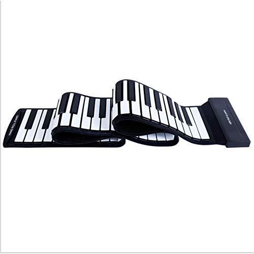 Learn More About Convenient piano 88 key USB link professional version soft keyboard folding simulat...