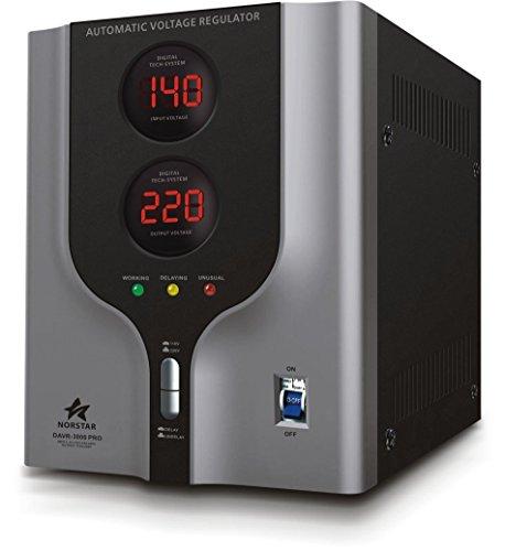 Norstar Power Converter with Voltage Stabilizer (5000 Watts) - Step Up & Step Down Voltage Transformer - Automatic Voltage Regulator with Stabilizer (5000 Watts)