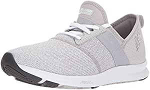 New Balance Women's FuelCore Nergize v1 FuelCore Training Shoe, Light Grey, 7.5 D US