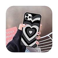 iPhone 12ミニ7 11 Pro XR XS MAX X 8 SE 2020 6プラスファッションシリコーンハードカバーファンダス -Style 11-For iphone 8