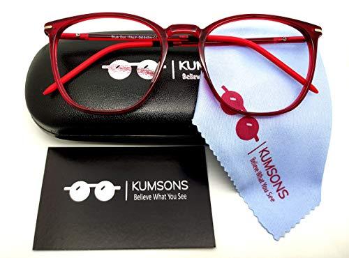 KUMSONS Unisex Round Premium Blue Ray UNBREAKABLE...
