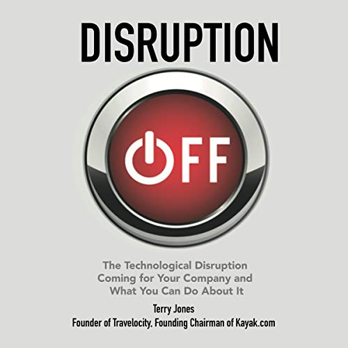 Disruption Off audiobook cover art