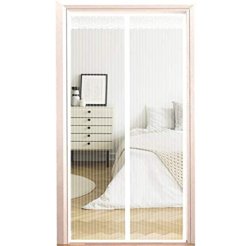Fliegengitter Tür Insektenschutz Magnet Fliegenvorhang - Kinderleichte Klebemontage Ohne Bohren für Wohnzimmer Balkontür Terrassentür
