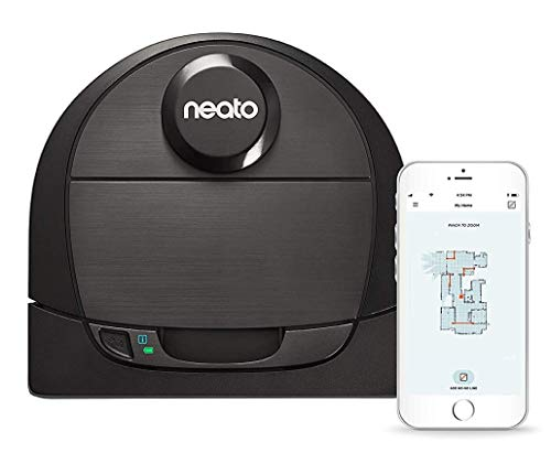 Neato Robotics D6 Connected Laser Guided Robot Vacuum for Pet Hair, Works with...