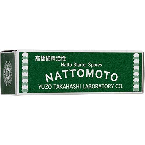 Japanese Natto Starter Spores (Nattomoto) - 3g (enough to make 30kg of natto). 100% Organic Soybean...