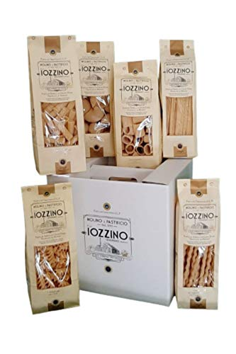 Pastificio F.lli Iozzino - Pasta di Gragnano IGP - Pacco confezione regalo (3Kg - 6x500g)