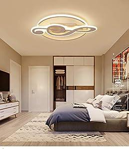 Lámpara LED moderna Lámpara de techo de acrílico