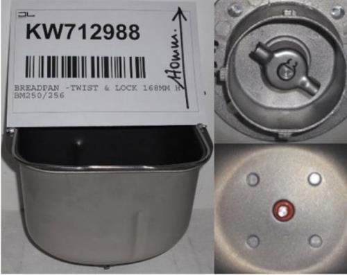 Kenwood–Behälter Complete Brotbackautomat Kenwood–kw712988