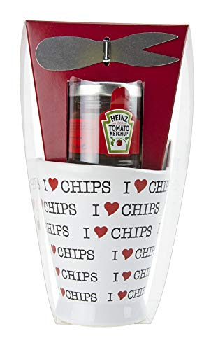 Heinz I Love Chips - Tomato Ketchup Set
