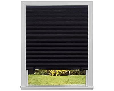 Original Blackout Pleated Paper Shade Black