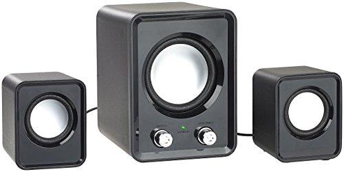 auvisio Lautsprecher Laptop: 2.1-Lautsprecher-System mit Subwoofer und USB-Stromversorgung, 20 Watt (PC Soundsystem)