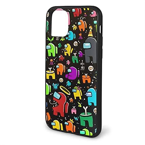 Among Us-2 - Carcasa para iPhone 11 Pro Max-6.5, color negro
