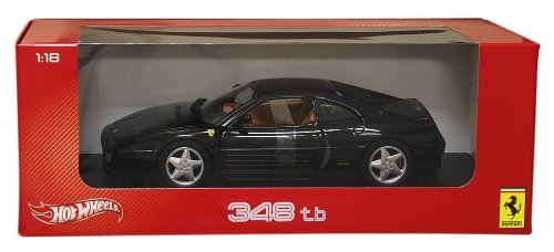 MATTEL 1/18 Ferrari 348TB Black (japan import)