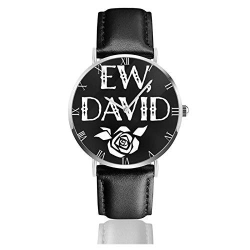 EW David Rose Teens Niños Estudiantes Relojes de Regalo Reloj de Moda Ultrafino