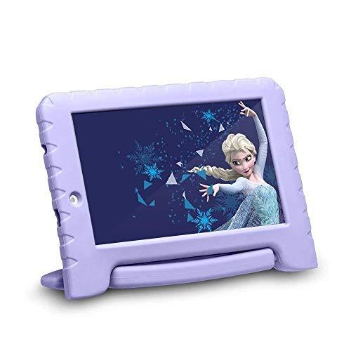 "Tablet Wi-Fi Quad-Core, Multilaser, Disney Frozen, NB315, 16 GB, 7"", Colorido"