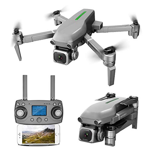 DAN DISCOUNTS RC Drohne, L109-S Drohne mit Kamera 4K 5G WiFi Übertragung, Faltbarer mit Gestensteuerung, GPS Auto Return Indoor Outdoor Quadrocopter Training