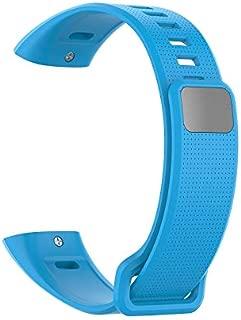 OUYAWEI Silicone Wrist Strap For Huawei Band 2 Pro Band2 ERS-B19 ERS-B29 Sports Bracelet Straps Wristband Light blue