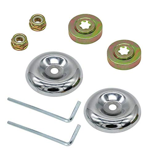 Syuantech Trimmer Head Brush Cutter Blade Adapter Set String Trimmer Cutter Parts Compatible for Husqvarna Stihl Cortacésped