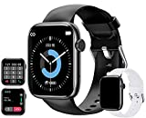 feifuns Smart Watch with Call(Answer Make Call) IP67 Waterproof Fitness Tracker Heart Rate Blood Pressure Oxygen SpO2 Sleep Step Calorie Count Smart Watches for Men Women for Android iOS Phone (Black)