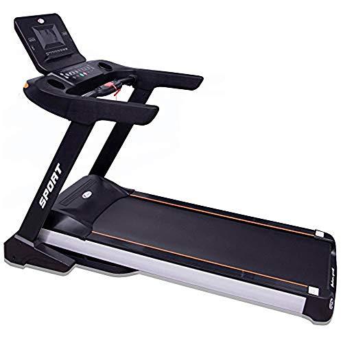 CENTURFIT Caminadora Electrica 4hp Uso Rudo Gym Plegable Fitness Profesional 12 Programas Inclinacion Pantalla 5' Pantalla Digital Corredora Electrica