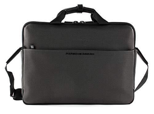 Porsche Design Roadster 4.1 Briefbag SHZ with Laptop Case Grey