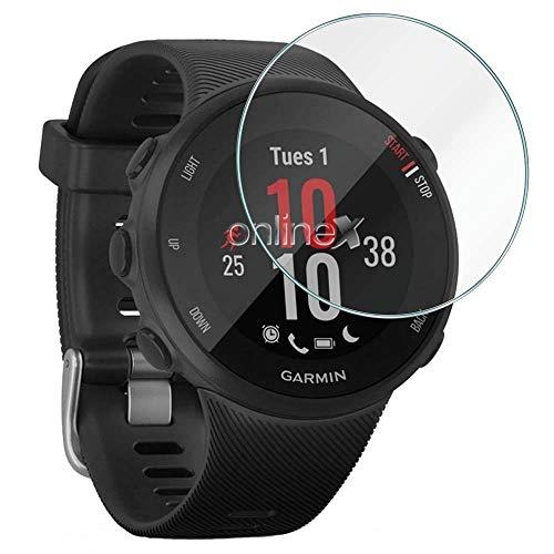 3X Protector de Pantalla para Universal de 35mm, Cristal Vidrio Templado Premium Reloj SmartWatch