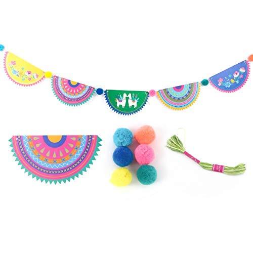 NICROLANDEE Lama Party Supplies Party Banner - Mexikanische Fiesta Cinco De Mayo Alpaka Thema Inneneinrichtungen für Baby Shower Birthday Party Decor