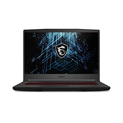 MSI GF65 Thin 10UEK-047US 15.6' Gaming Laptop, Intel Core i7-10750H RTX3060 16GB RAM, 512GB NVMe SSD, 144Hz 3ms IPS, American English Backlit Keyboard