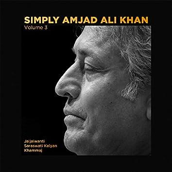 Simply Amjad Ali Khan - Vol. 03