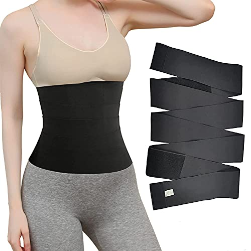 Snatch Me Up Bandage Wrap,Waist Trainer Tape Invisible Waist Trimmer Wrap...