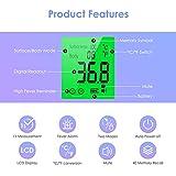Immagine 2 idoit termometro febbre infrarossi termoscanner