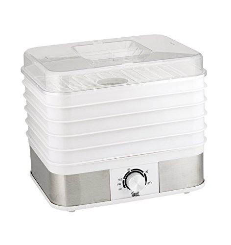 Best Price Haus HFD 44220 W Professional Electric Multi-Tier Food Dehydrator Dishwasher Safe Trays, ...