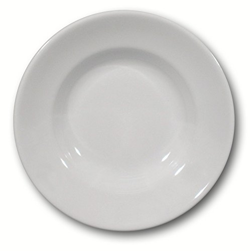 Saturnia Piatto Fondo Tivoli, Porcellana, Bianco, 28 Cm, 700 unità