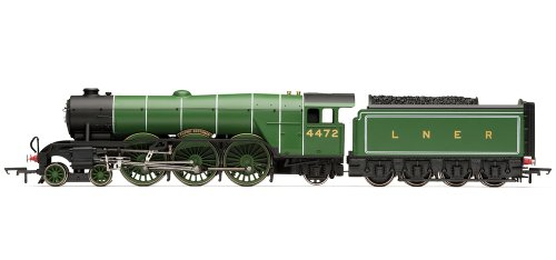 Hornby Railroad 00 Gauge LNER Class A1 Flying Scotsman with TTS Sound Steam Locomotive